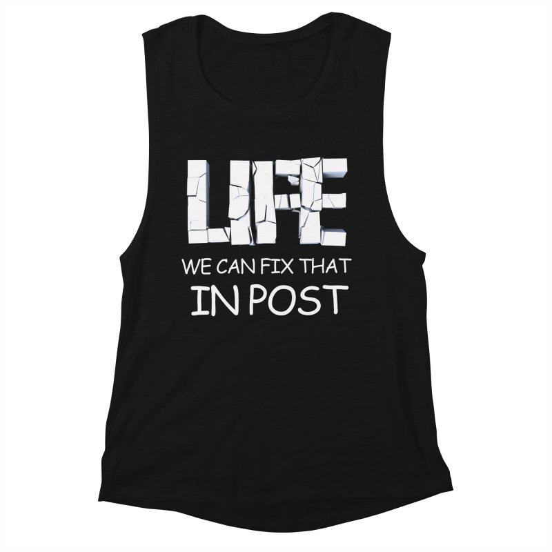 Post Life Women's Muscle Tank by Conceive3D