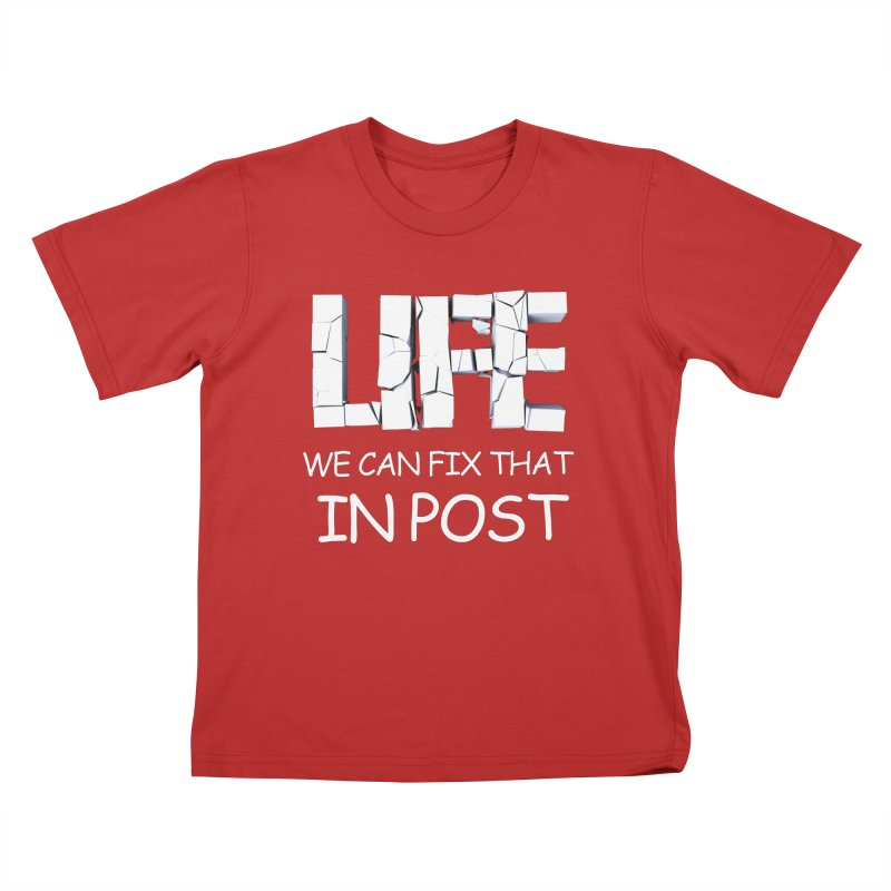 Post Life Kids T-Shirt by Conceive3D