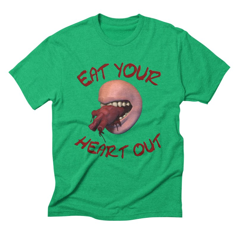 Eat Your Heart Out Men's Triblend T-Shirt by Conceive3D