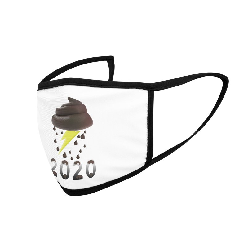 Shit Storm 2020 Accessories Face Mask by Conceive3D