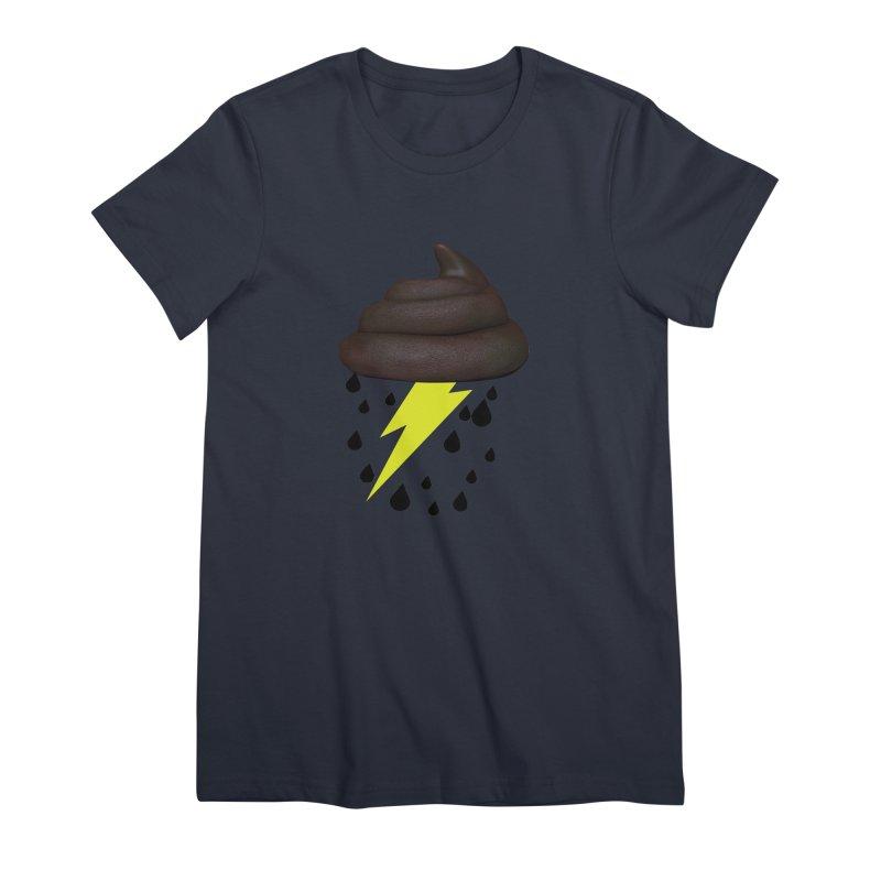Shit Storm Women's Premium T-Shirt by Conceive3D