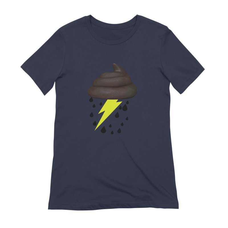 Shit Storm Women's Extra Soft T-Shirt by Conceive3D