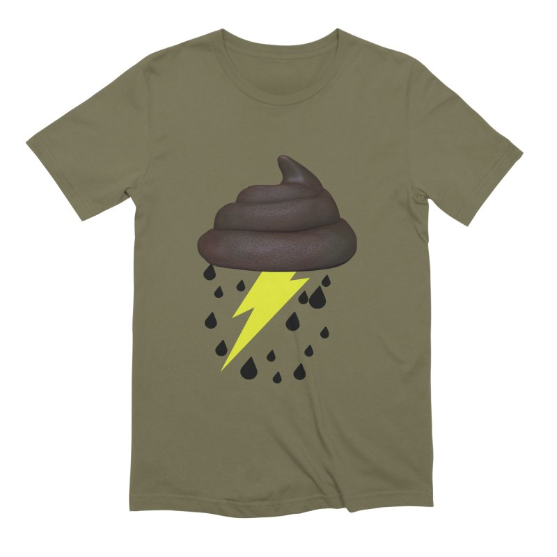 Shit Storm Men's Extra Soft T-Shirt by Conceive3D