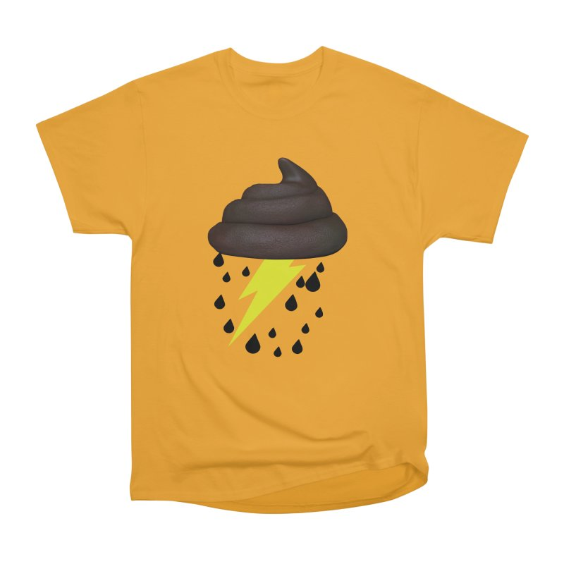 Shit Storm Men's Heavyweight T-Shirt by Conceive3D
