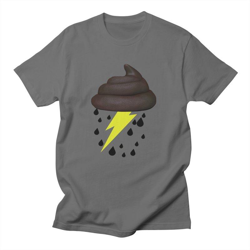 Shit Storm Men's T-Shirt by Conceive3D