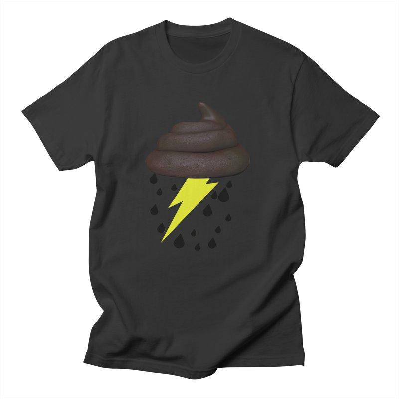 Shit Storm Men's Regular T-Shirt by Conceive3D