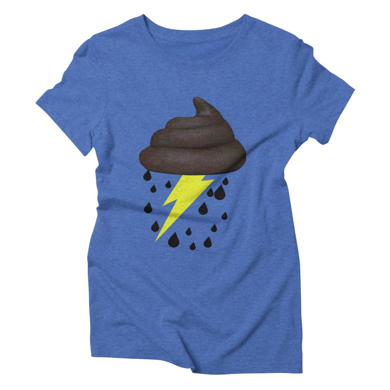 Shit Storm Women's Triblend T-Shirt by Conceive3D