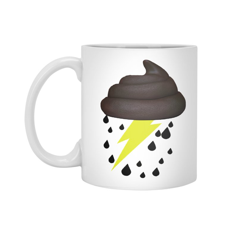 Shit Storm Accessories Standard Mug by Conceive3D
