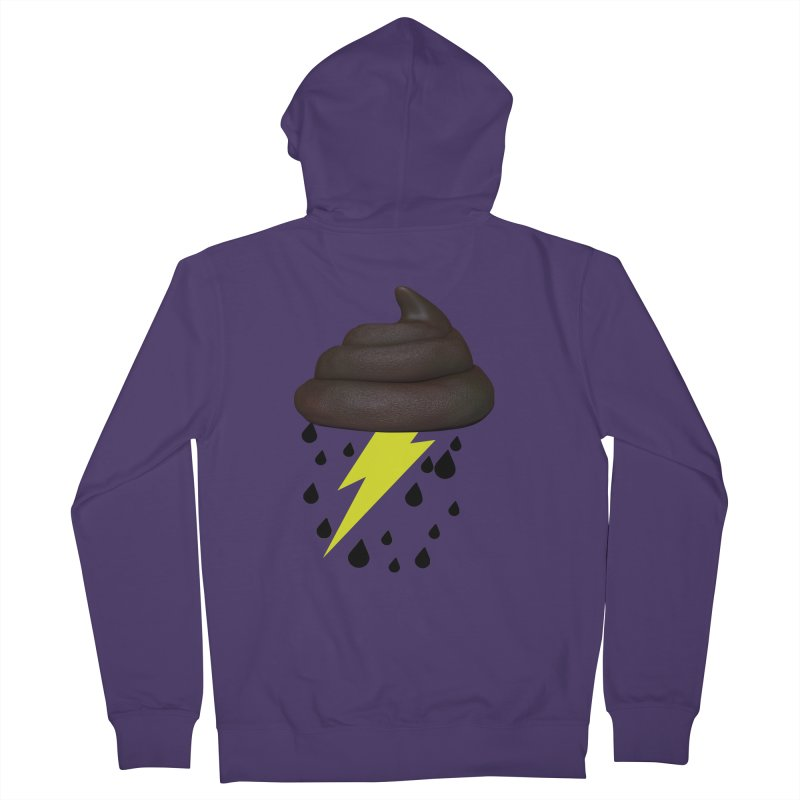 Shit Storm Women's Zip-Up Hoody by Conceive3D