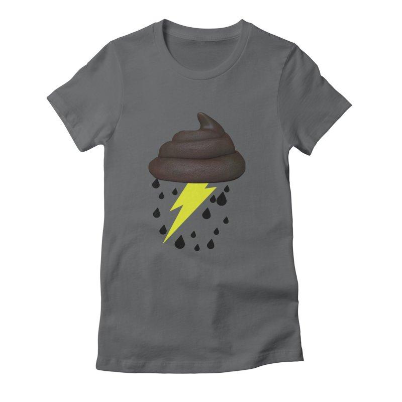 Shit Storm Women's T-Shirt by Conceive3D