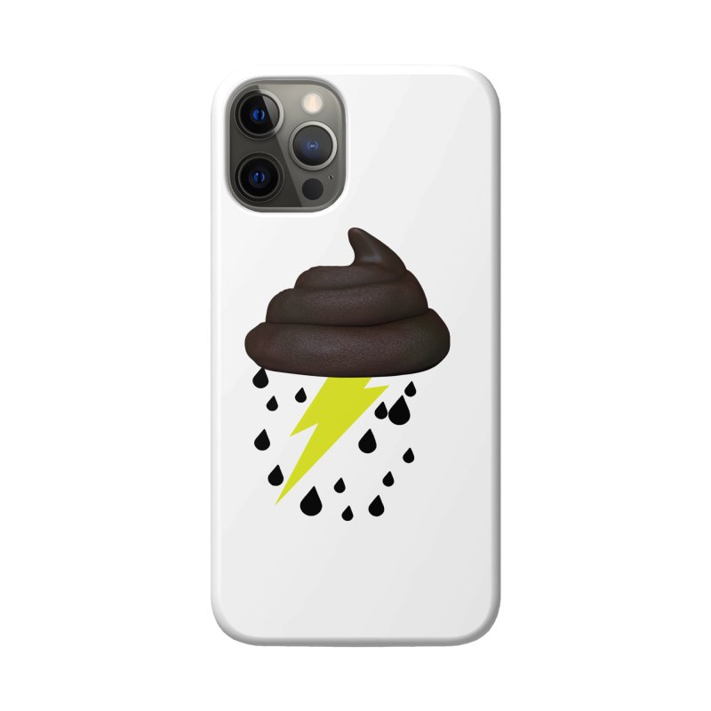 Shit Storm Accessories Phone Case by Conceive3D