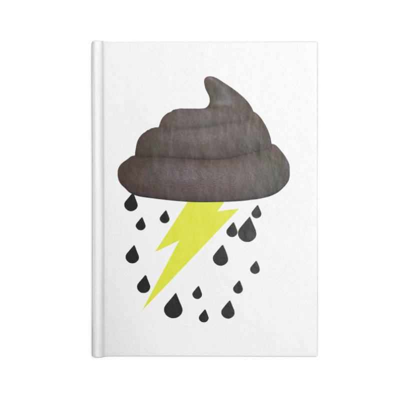 Shit Storm Accessories Notebook by Conceive3D