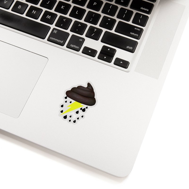 Shit Storm Accessories Sticker by Conceive3D