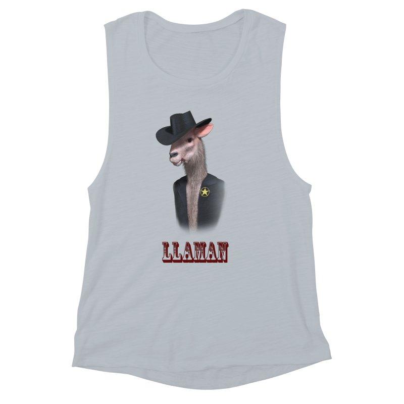 LLAMAN Women's Tank by Conceive3D