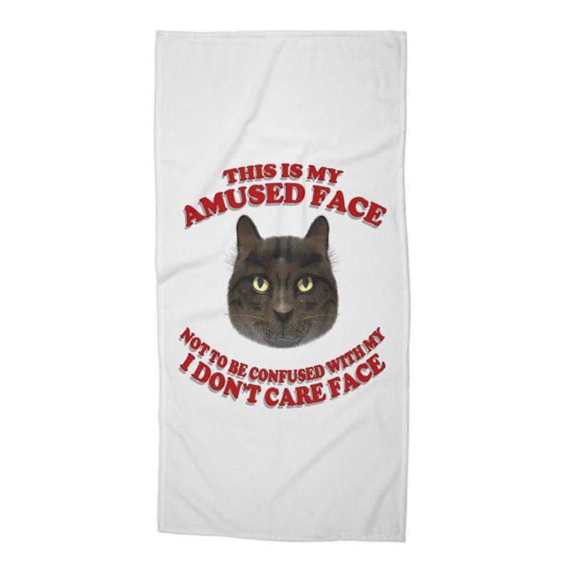 Amused Accessories Beach Towel by Conceive3D