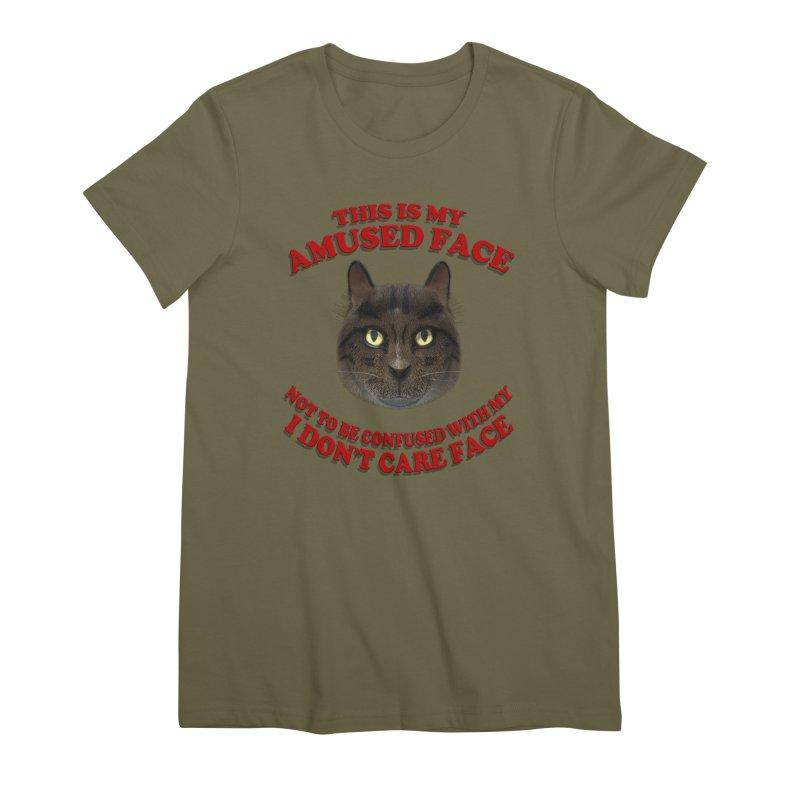 Amused Women's Premium T-Shirt by Conceive3D