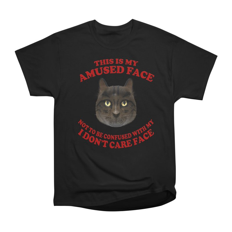 Amused Men's Heavyweight T-Shirt by Conceive3D