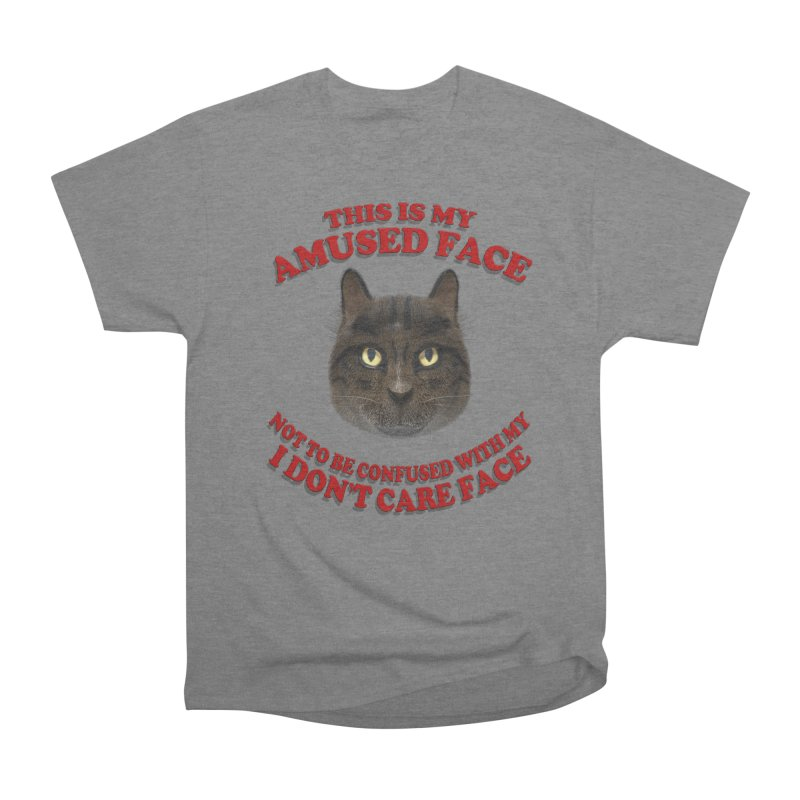 Amused Women's Heavyweight Unisex T-Shirt by Conceive3D