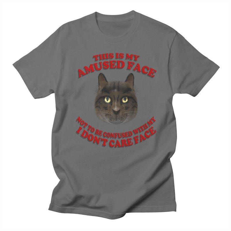 Amused Men's T-Shirt by Conceive3D