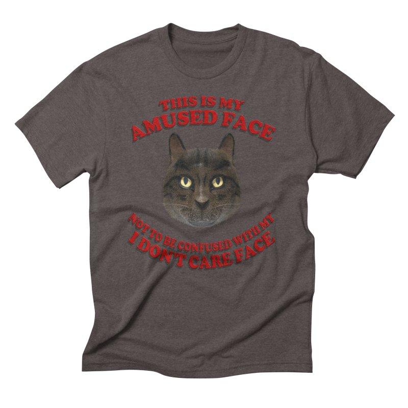 Amused Men's Triblend T-Shirt by Conceive3D