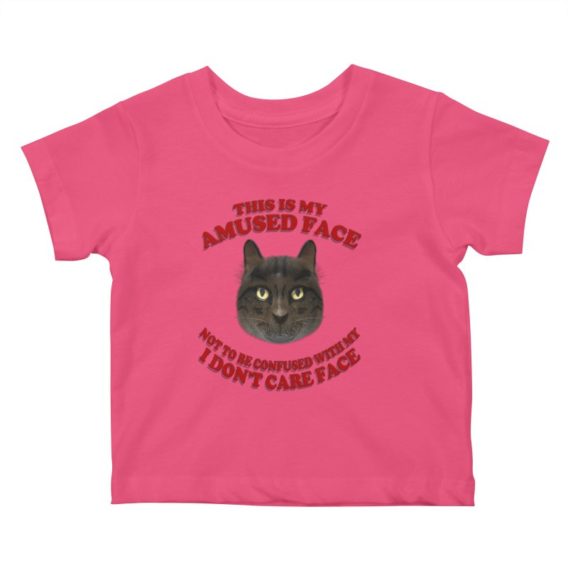 Amused Kids Baby T-Shirt by Conceive3D