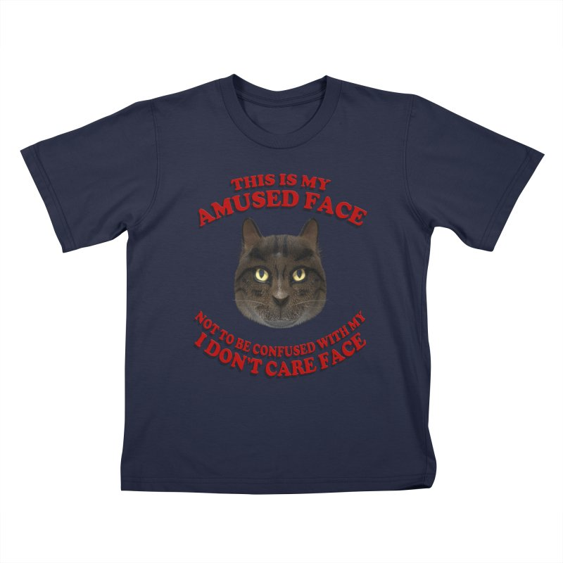 Amused Kids T-Shirt by Conceive3D