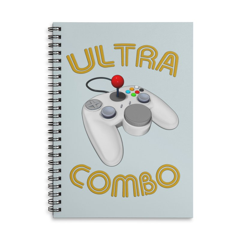Ultra Combo Accessories Lined Spiral Notebook by Conceive3D