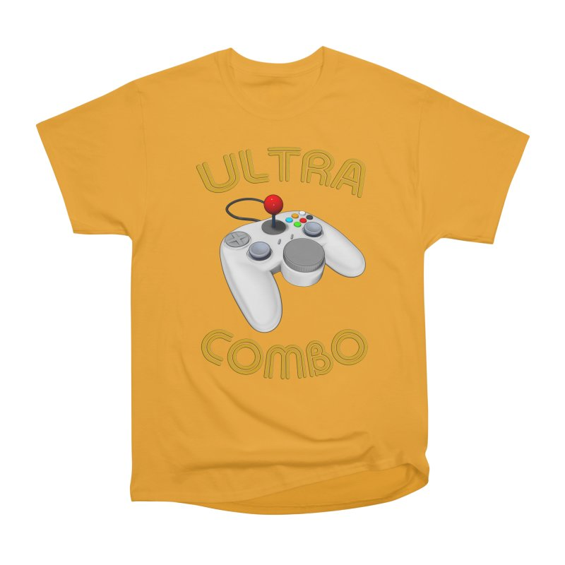 Ultra Combo Men's Heavyweight T-Shirt by Conceive3D