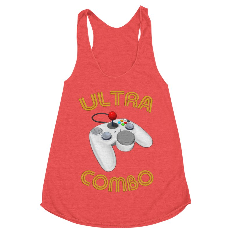 Ultra Combo Women's Racerback Triblend Tank by Conceive3D