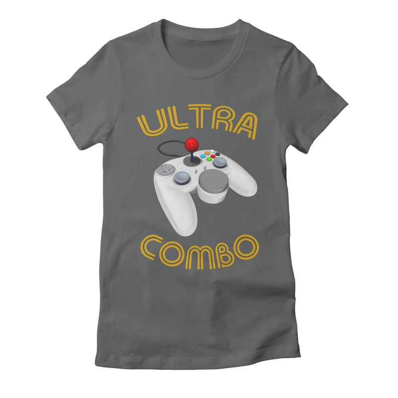 Ultra Combo Women's Fitted T-Shirt by Conceive3D