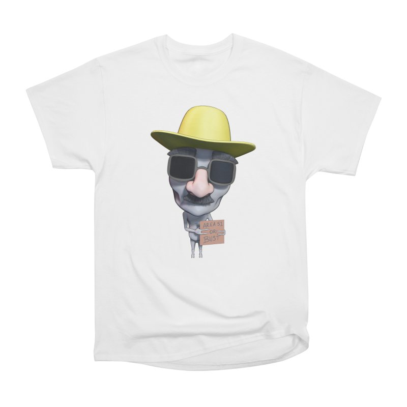 Area 51 or Bust Men's T-Shirt by Conceive3D