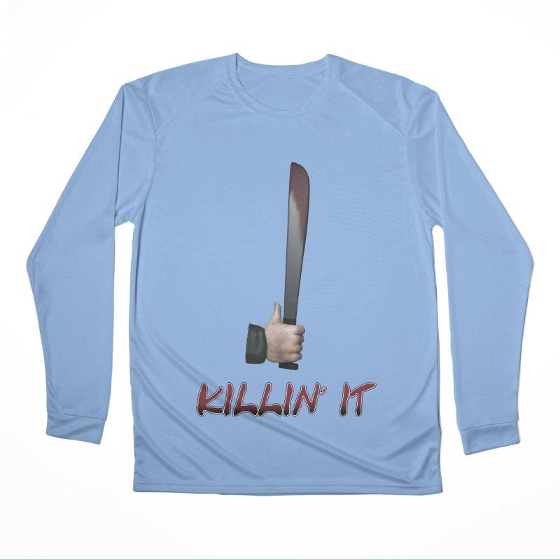 Killin' It Men's Performance Longsleeve T-Shirt by Conceive3D