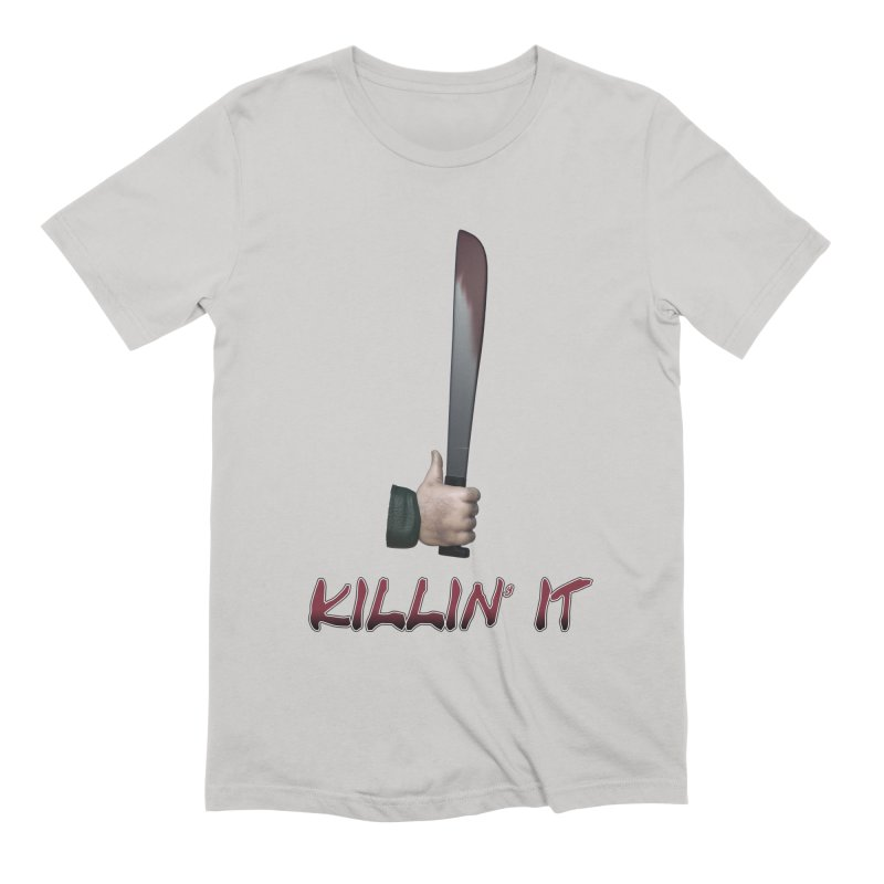 Killin' It Men's Extra Soft T-Shirt by Conceive3D