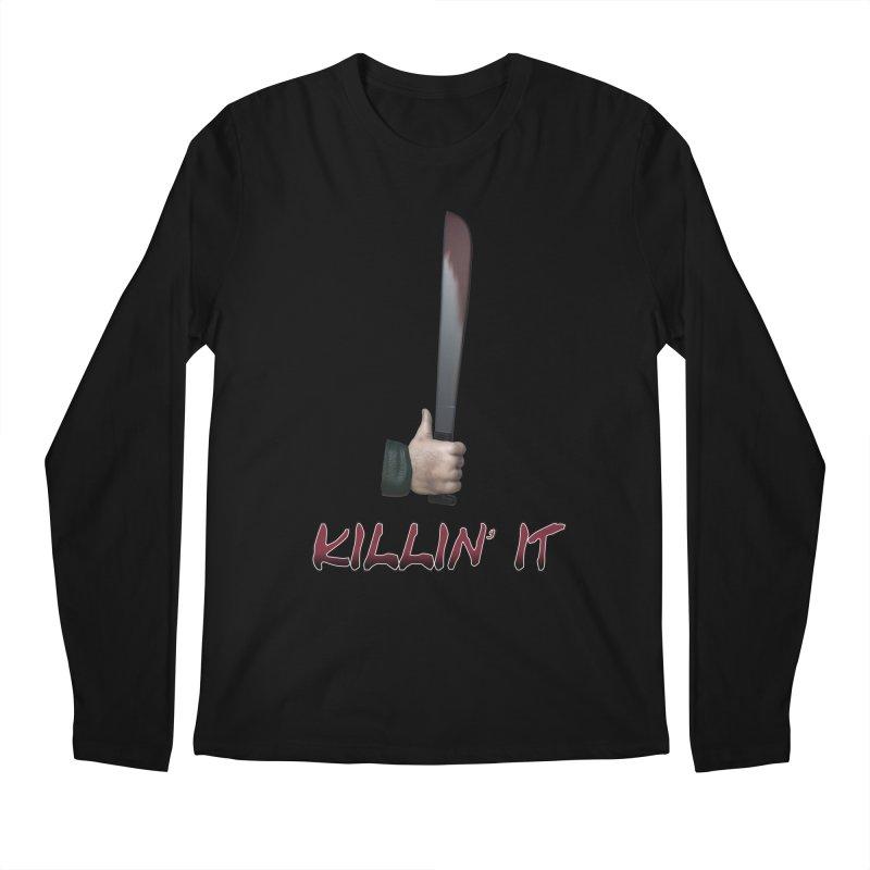 Killin' It Men's Regular Longsleeve T-Shirt by Conceive3D