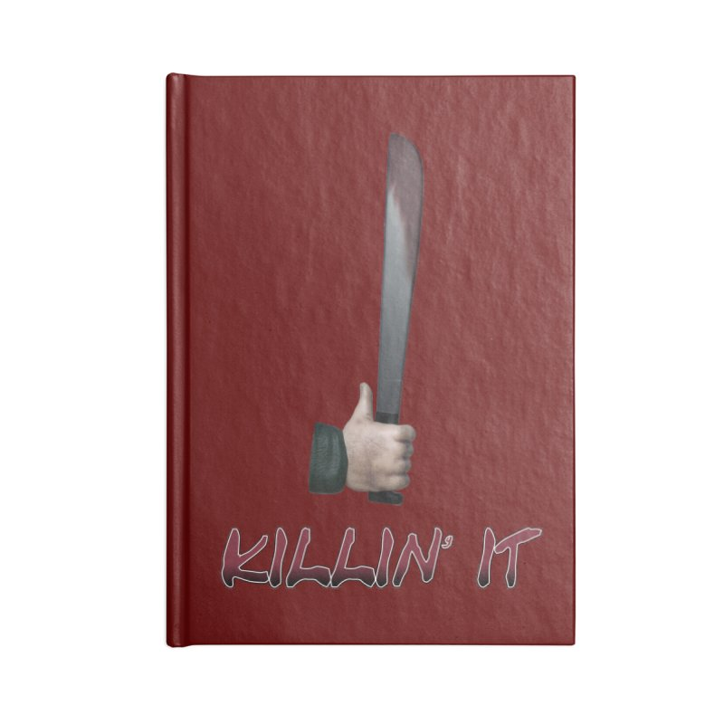 Killin' It Accessories Lined Journal Notebook by Conceive3D