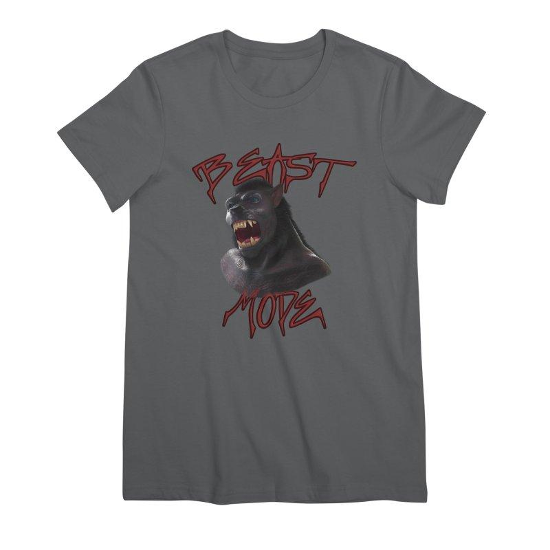 Beast Mode Women's Premium T-Shirt by Conceive3D