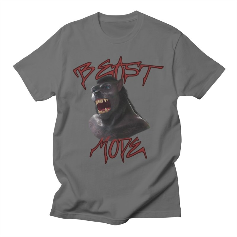 Beast Mode Men's T-Shirt by Conceive3D