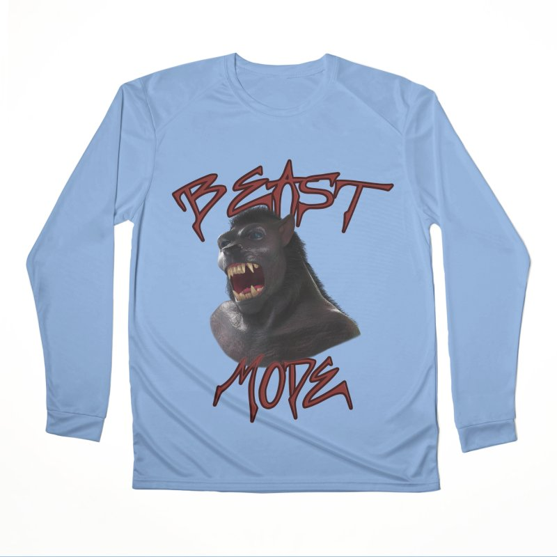 Beast Mode Men's Performance Longsleeve T-Shirt by Conceive3D