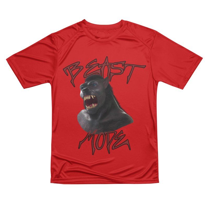 Beast Mode Men's Performance T-Shirt by Conceive3D