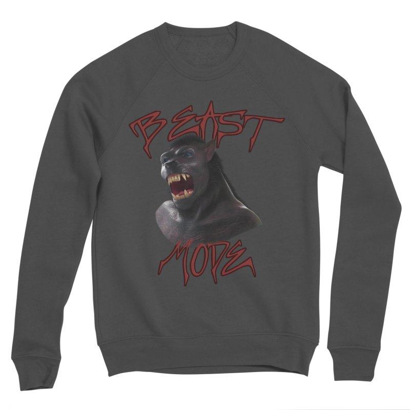 Beast Mode Men's Sweatshirt by Conceive3D