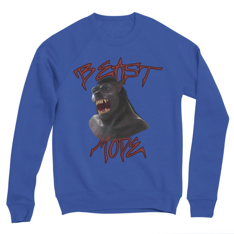 Beast Mode Men's Sweatshirt by Conceive3D