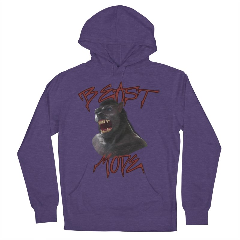 Beast Mode Women's French Terry Pullover Hoody by Conceive3D