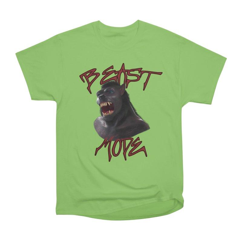 Beast Mode Men's Heavyweight T-Shirt by Conceive3D