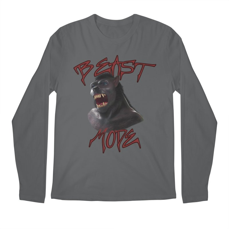 Beast Mode Men's Longsleeve T-Shirt by Conceive3D