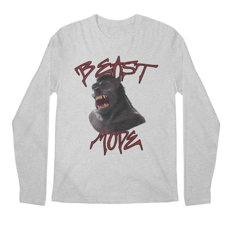 Beast Mode Men's Regular Longsleeve T-Shirt by Conceive3D