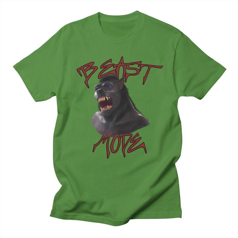 Beast Mode Women's Regular Unisex T-Shirt by Conceive3D