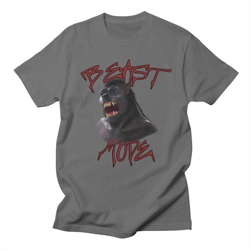 Beast Mode Men's Regular T-Shirt by Conceive3D
