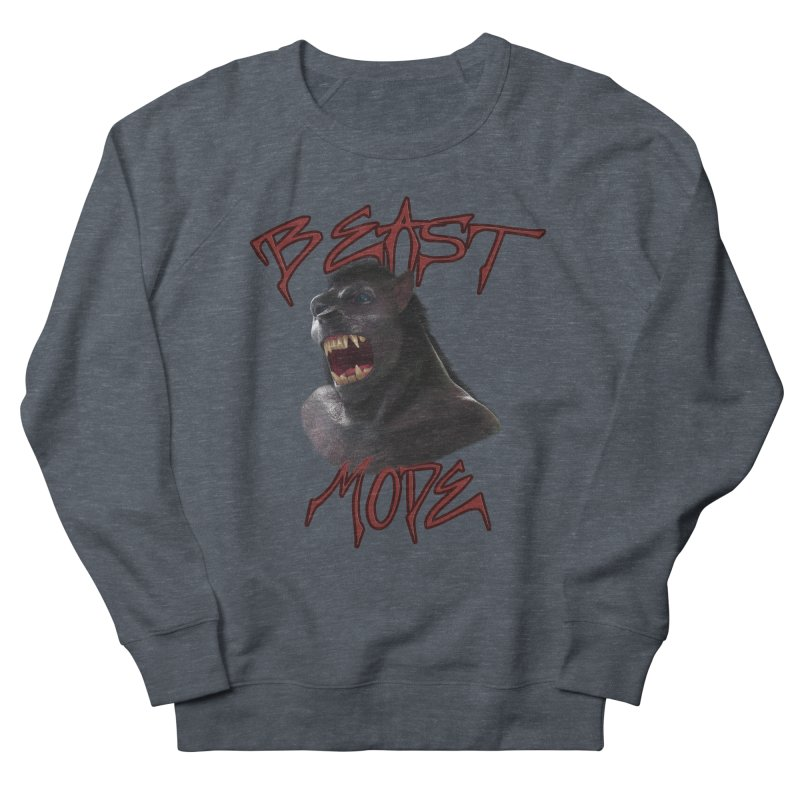 Beast Mode Men's French Terry Sweatshirt by Conceive3D