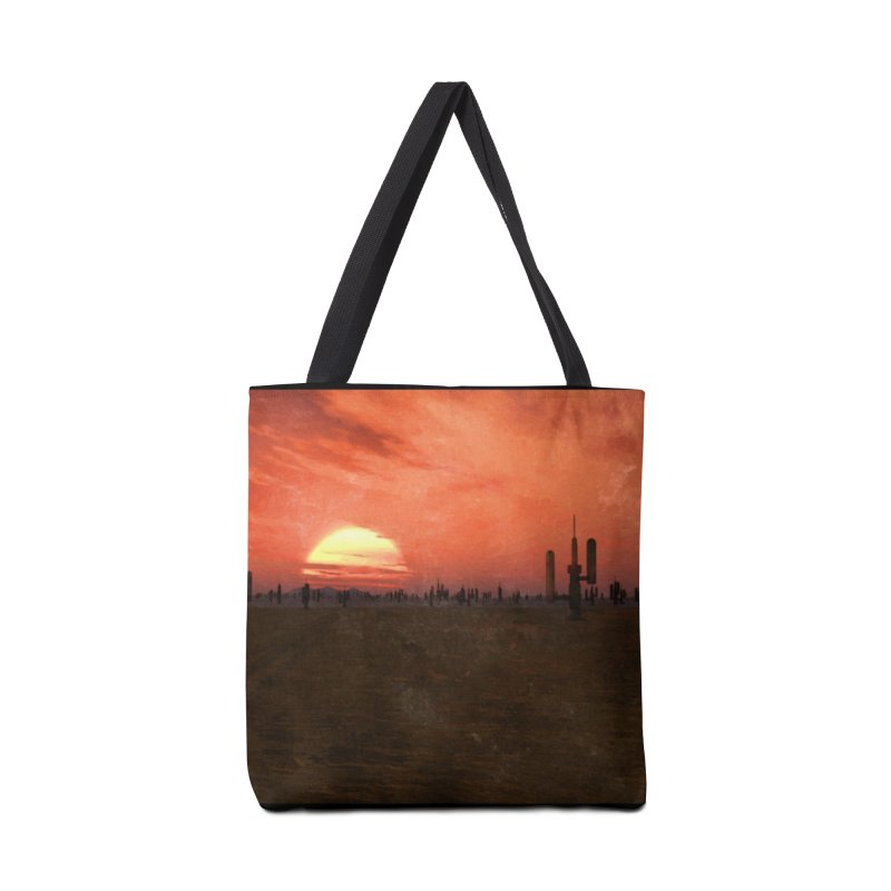 Space Desert Accessories Tote Bag Bag by Conceive3D
