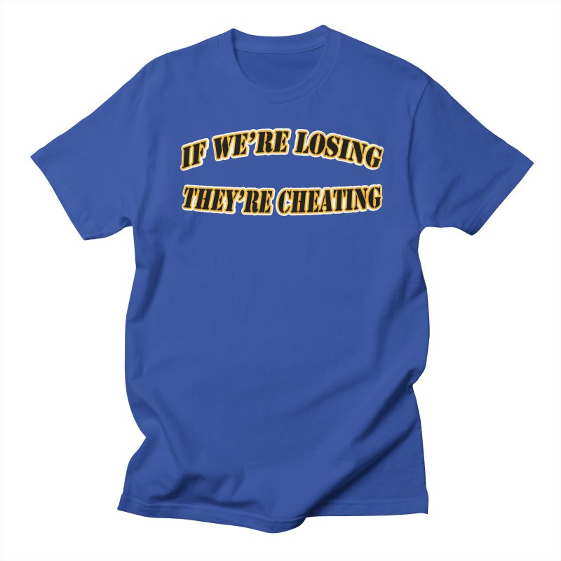 Cheating Men's T-Shirt by Conceive3D